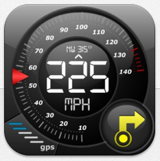 Tacho-App für iPhone und iPad mit Kartenanzeige heute kostenlos