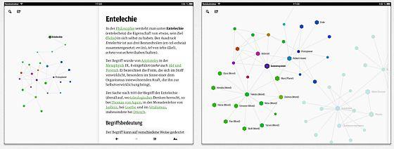 Wikiweb Screenshots auf dem iPad