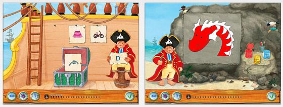 Capt'n Sharky iPad App Screenshot