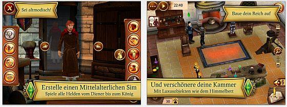 Die Sims Mittelalter Screenshots