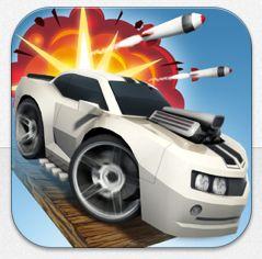Zweite Chance zum kostenlosen Download von Table Top Racing für iPhone, iPod Touch und iPad