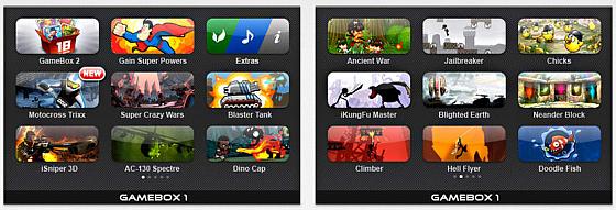 Gamebox 1 Screens