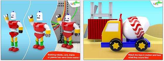 build and play 3d planes trains robots and more heute kostenlos app. Black Bedroom Furniture Sets. Home Design Ideas