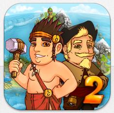 Zeitmanagementspiele Island Tribe HD und Island Tribe 2 HD kurze Zeit kostenlos