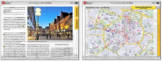 Nelles Verlag Reiseführer München Screenshots