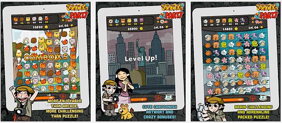 Safari Party bietet mehrere Spielmodi, niedliche Zeichnungen und einen besonders guten Multiplayer-Modus.