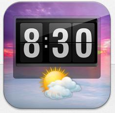 Witzige Beschreibung bei der gerade kostenlosen iPad-App Uhr+
