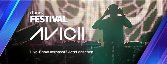 Avicii- und Elton John-Auftritte in iTunes Festival ansehen und alle Stars der nächsten 2 Wochen