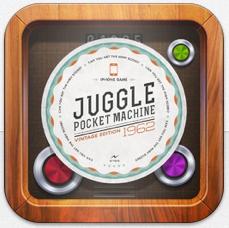 Juggle: Pocket Machine – gerade kostenloses Konzentrationsspiel mit Suchtgefahr