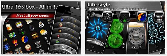 Die Toolbox vereinigt rund 30 Mini-Apps in einer App