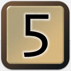 Eine Art Scrabble mit Zahlen – Five-O in der Vollversion gerade gratis für iPhone und iPad