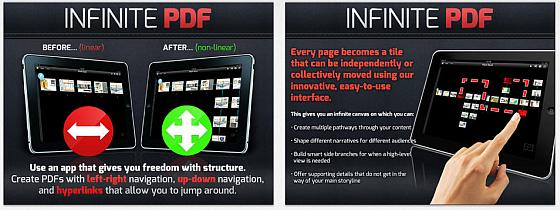 Mit Infinite Screens sortierst Du ganz einfach Charts in Präsentationen auf dem iPad um.