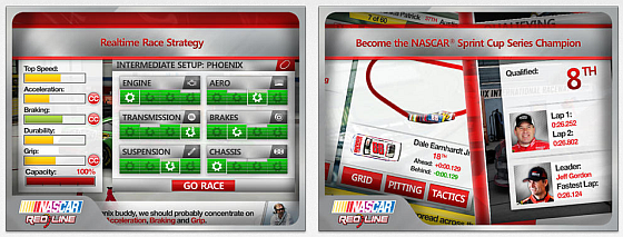 Nascar Redline Screens
