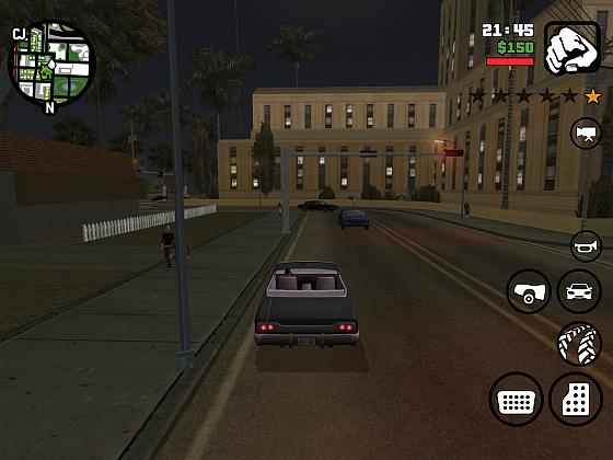 Straßenszene GTA San Andreas