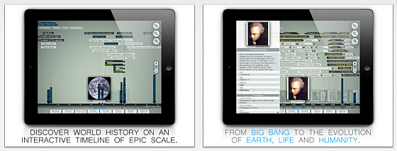 littleBIG History für iPad Screenshots
