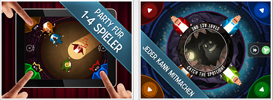 King of Opera Partyspiel für das iPad - Screenshots
