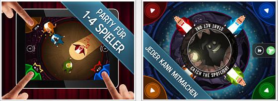 King of Opera Partyspiel für das iPad - Screenshots