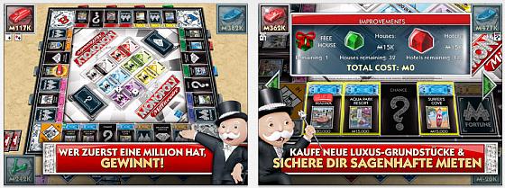 Alles neu und doch gewohnt - Monopoly Millionaire ist eine Weiterentwicklung des Monopoly-Spiels