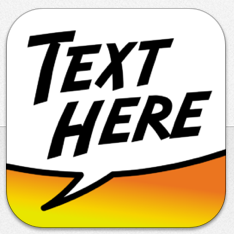 Text Here Icon