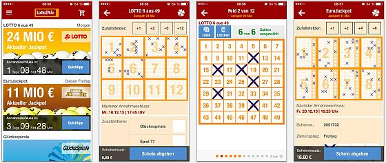 Lotto24.de Screenshots für das iPhone