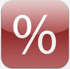 Prozentrechner Pro Icon