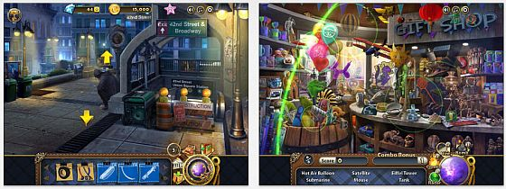 Secret of the Pendulum Screens