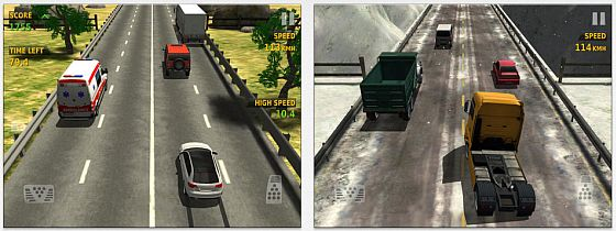 Traffic Racer Screen