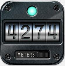 Mit der App Altimeter + weisst Du immer, wie hoch Du gerade stehst