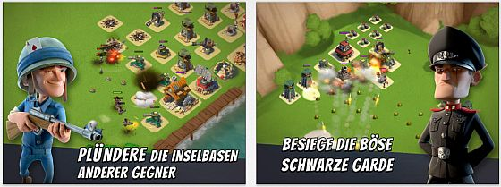 Boom Beach Screens