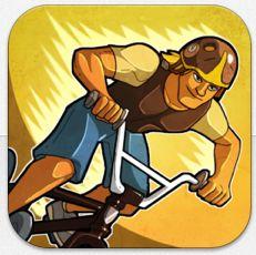 BMX-Rennen auf iPhone und iPad mit dem bis morgen früh kostenlosen Mad Skills BMX