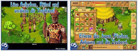 Zahlreiche Aufgaben warten auf dioe Spieler von The Island: Castaway 2. Aufgrund der besseren Übersicht empfehlen wir das Spiel auf iPad und Mac.