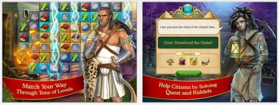 Das Match 3 Spiel ist in Cradle of Empires um einige Zusatzspielereien ergänzt worden. Ob das gefällt, ist klar Geschmacksache.