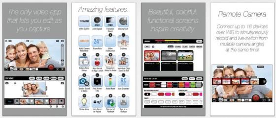 Die Bearbeitung während der Aufnahme ist eine Eigenschaft der App, die derzeit noch seinesgleichen sucht - das gilt auch für das Zusammenschließen von bis zu 16 Kameras in einem WLAN Netz.