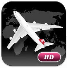 World Flight Pro HD für das iPad ist gerade kostenlos: Alle Flugzeiten im Blick