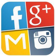 Alle wichtigen Social Networks mit einer App im Griff – spare 4,49 Euro beim Download
