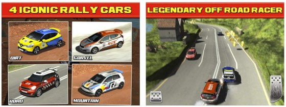 Rally Racing Championship Rivals Screens