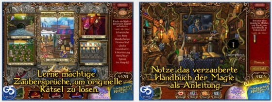 Bilder mit vielen kleinen Details und eine ordentliche Geschichte mit Minispielen zeichnen The Magician