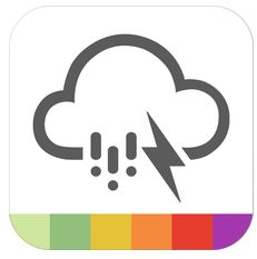 iPhone- und iPad-App für Unwetterwarnungen nur heute kostenlos