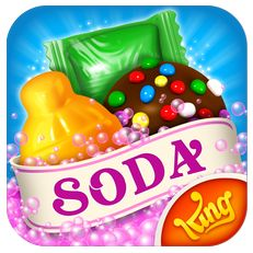 Für alle, die von Candy Crush nicht genug kriegen, gibt's jetzt auch noch Candy Crush Soda Saga