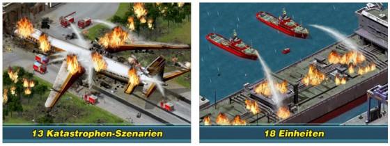 Teste Deine Fähigkeiten als Krisenmanager und Einsatzleiter bei Unfällen und Katastrophen. Schaffst Du es, alle Verletzten zu versorgen und in die Krankenhäuser zu bringen?