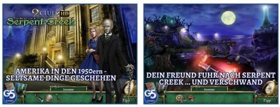 9 Clues fügt sich in die unheimlichen Point- und Click-Abenteuerspiele von G5 nahtlos ein.