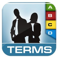 Dictionary of Business Terms Icon