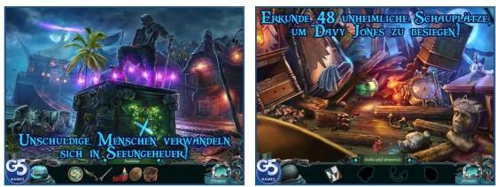 Der zweite Teil der Nightmares from the Deep-Abenteuerspielreihe für iPhone, iPad und Mac bietet 48 Schauplätze und 28 Minispiele in gewohnt guter Qualität.