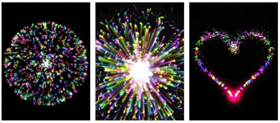 Real Fireworks bringt das Silvesterfeuerwerk auf Dein iPad oder iPhone - mit Getöse und ziemlich guter Animation.