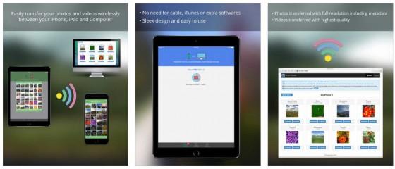 Mit Simple Transger Pro kannst Du ganz einfach und komfortabel Bilder und Videos zwischen iPhone, iPod Touch, iPad und PC oder Mac transferieren. Im Gegensatz zu Cloud-Lösungen bleiben Deine Dateien dabei ausschließlich in Deinem privaten WLAN-Netzwerk.