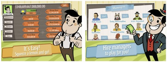 AdVenture Capitalist! Screens