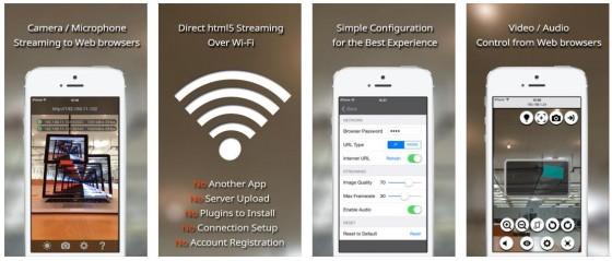Mit Home Streamer kannst Du Räume Zuhause oder im Büro überwachen. Die Einrichtung ist ganz einfach und braucht keine Zusatzgeräte.
