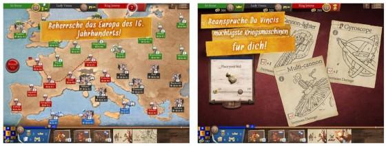 """Das Spiel Magnifico für das iPad basiert auf dem Brettspiel """"Da Vinci"""