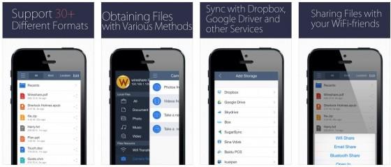 WireShare vereinigt viele Funktionen in einer App, für die man sonst mehrere Apps brauchen würde.