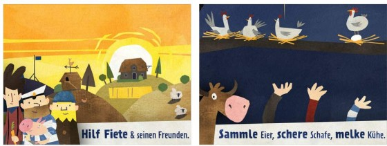 Die Fiete Spiele wirken eigentlich sehr norddeutsch - aber entstanden sind sie in Köln.